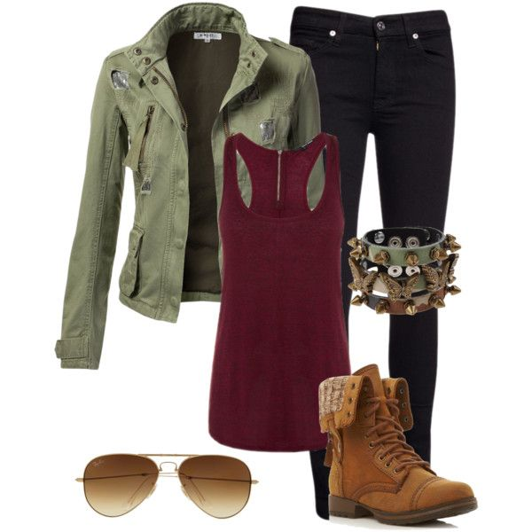 Military fall fashion 2013.. Love the green and burgundy