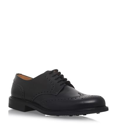 CHURCH'S Newark Punched Derby Shoes. #churchs #shoes #