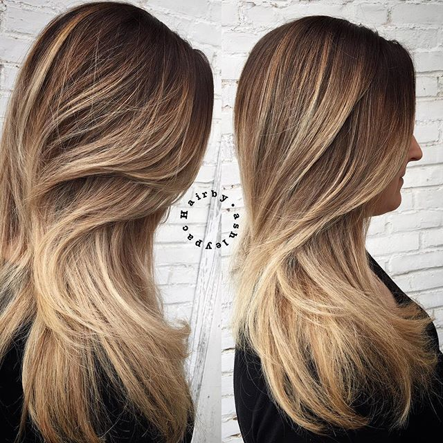#mulpix LOVE just a partial balayage on this babe #hairbyashleypac #hair #hairpics #hairdo #hairideas #blonde #balayage #blondehair #highlights #hairpainting #ombre #guytang #modernsalon #haircut #behindthechair #btcpics #pretty #prettyhair #girl #love #gorgeous #longhair #blondes #fashion #btcpics #modernsalon #behindthechair @behindthechair_com @imallaboutdahair @stylistshopconnect @modernsalon