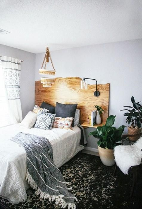 Los 25 dormitorios de estilo boho chic más bellos de Pinterest 2