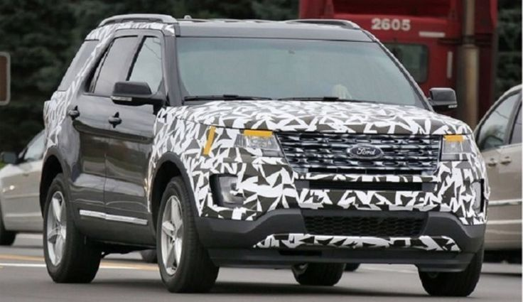 2017 Ford Explorer Redesign, Specs, Price, Release date