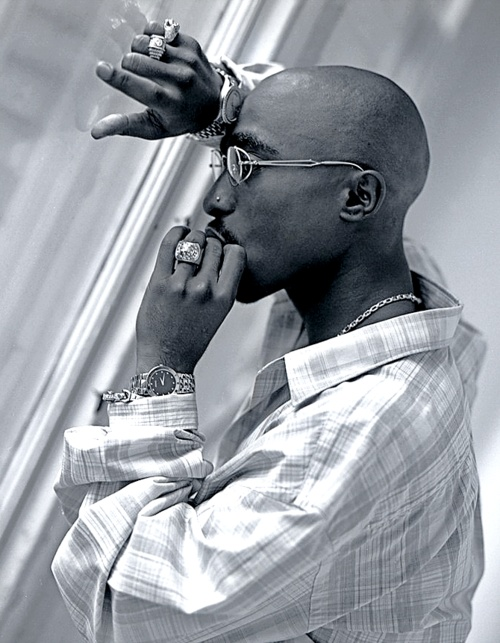 Tupac.  Beautiful and poetic....when he let himself.