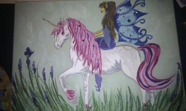 Fairy & unicorn