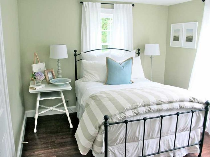 Apartment Guest Room Ideas Small Space Cool Small Space Bedroom As Inspiring Guest Spare Room Ideas With Iron Single Bed Frame Also White Bedside Table Feat Table Lamps As Well As White Curtain Windows Treatment Designs