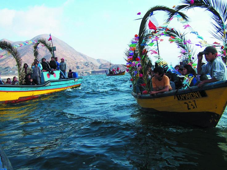 Celebración de San Pedro en Chañaral.