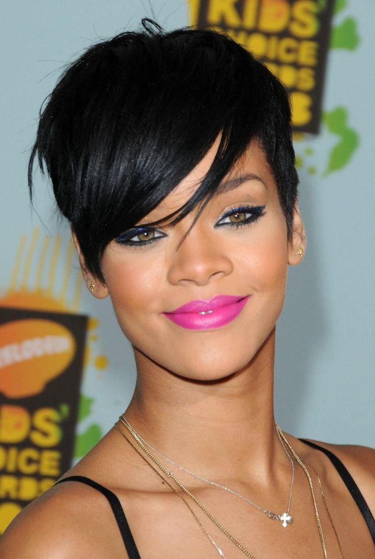 1000 Ides Sur Le Thme Rihanna Haircut Sur Pinterest Frange