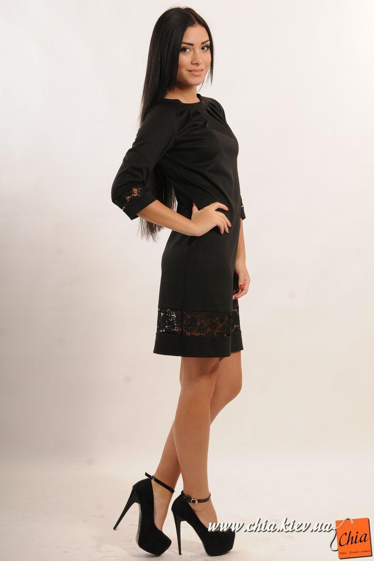 Платье с кружевным болеро код 031240