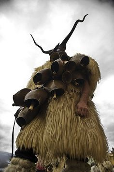 Sardinian Mamuthones. Ancient pre-christian pre-historic masqueraders still herald the pre-spring rites from the remote mountain villages.  (http://www.gonomad.com/1161-sardinia-rsquo-s-mamuthones-an-ancient-carnival)