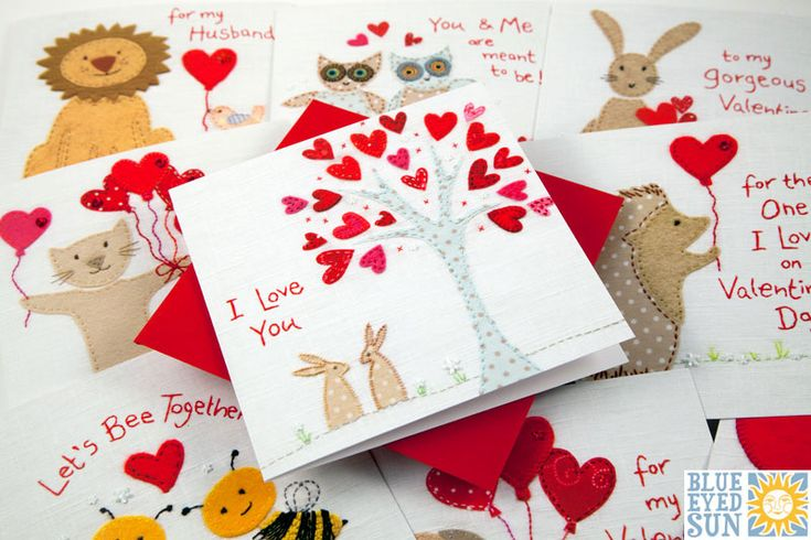 Gorgeous Valentines Cards by Blue Eyed Sun