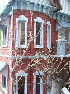 Fachada casa gótica
