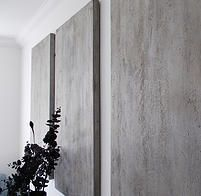 our micro-top polished concrete wall panels