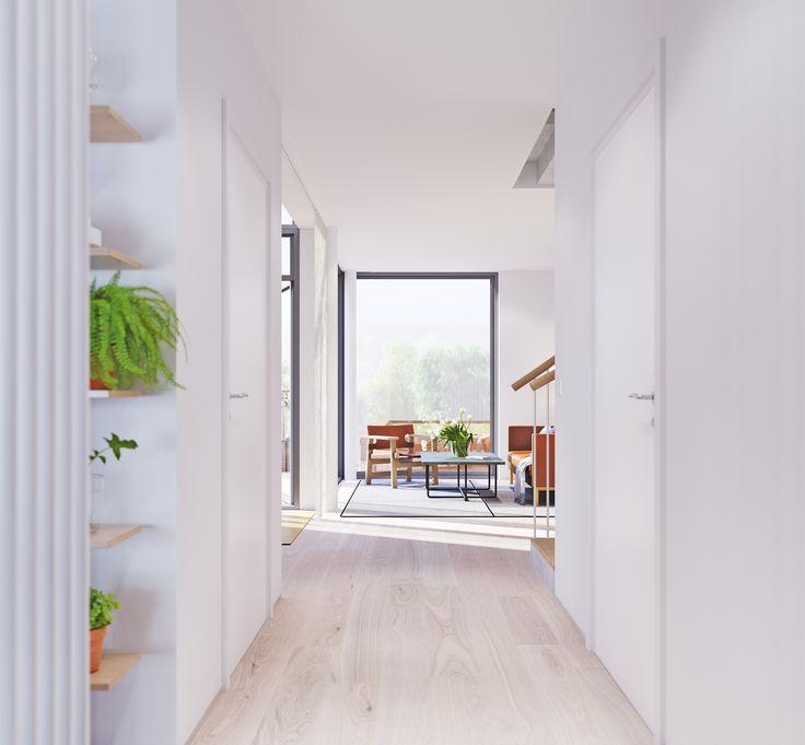 Zenhusen stadsradhus i norra djurg rdsstaden stockholm for Arkitekt design home