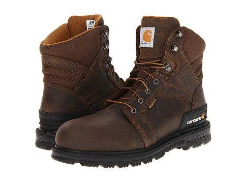 "CARHARTT 6"" Work Fudge Safety Boot. #carhartt #shoes #boots"