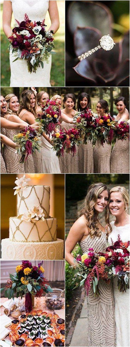 Gorgeous Fall wedding reception idea / http://www.himisspuff.com/fall-wedding-ideas-themes/