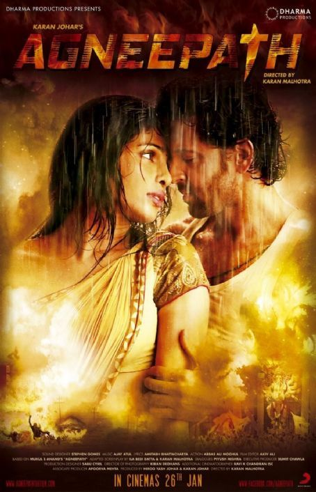 Hrithik Roshan - Agneepath Movie Latest Posters and Wallpapers 2012