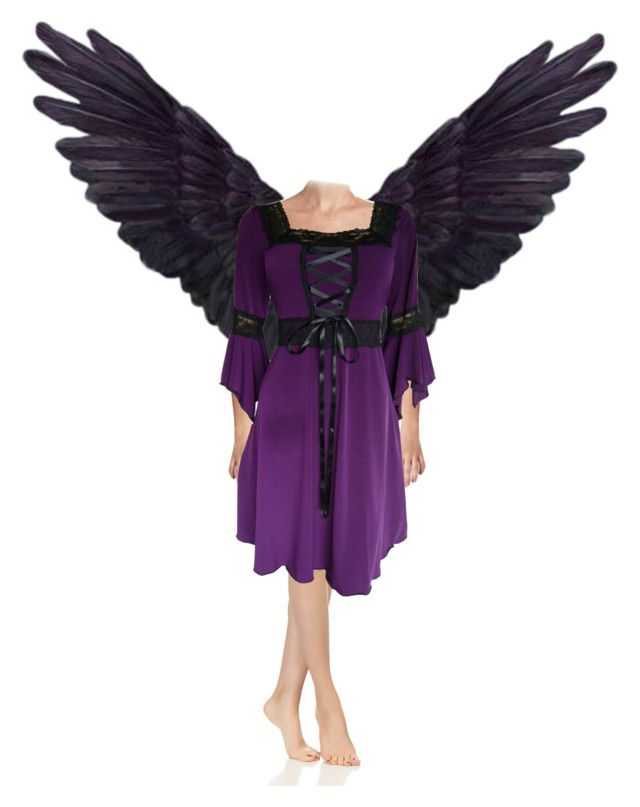 purple fairy by slytheriner on Polyvore
