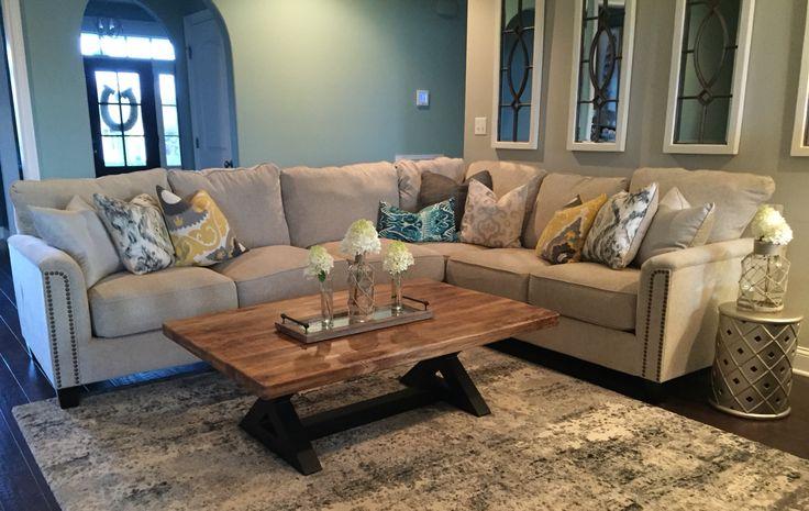 Kieman Sectional Home Design Pinterest Living Rooms