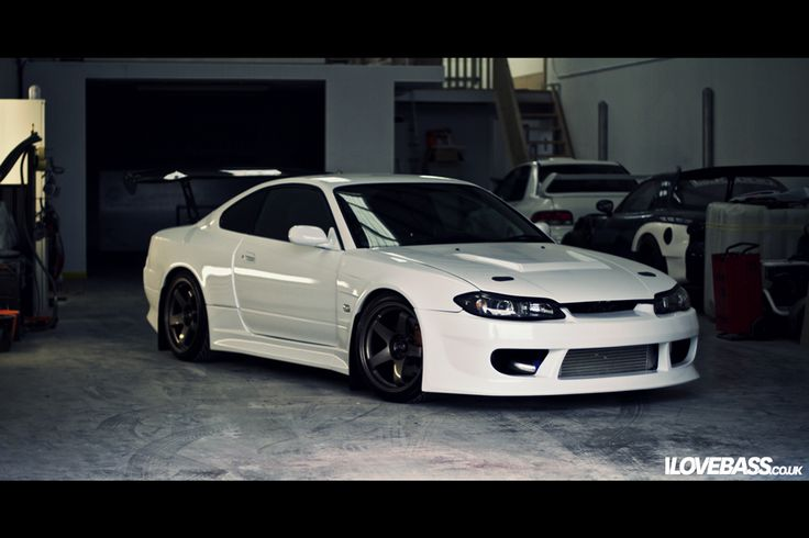 nissan silvia s15 - i love how clean this looks