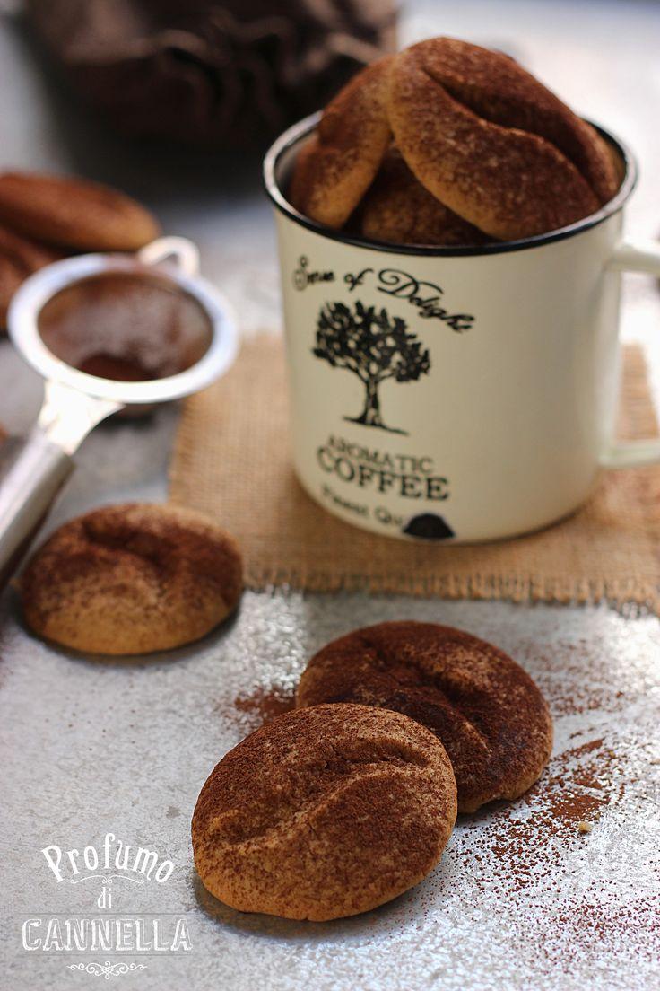 Biscotti chicco di caffè di Raffaella
