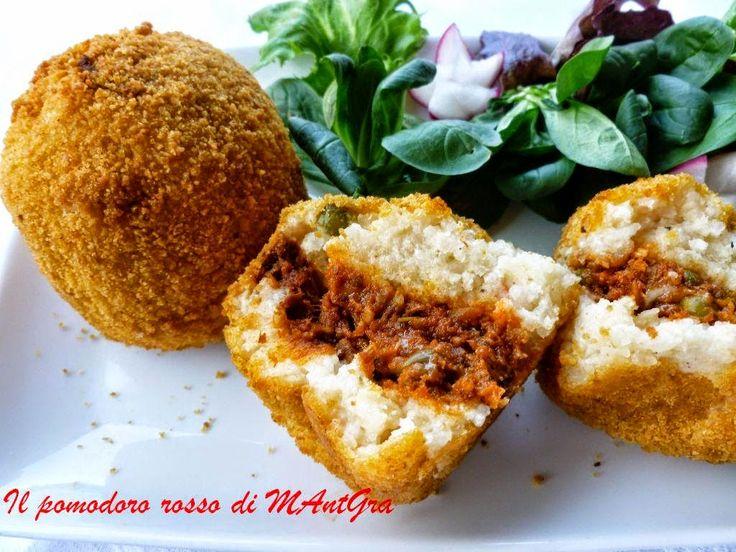 Il Pomodoro Rosso di MAntGra: Arancini alla siciliana