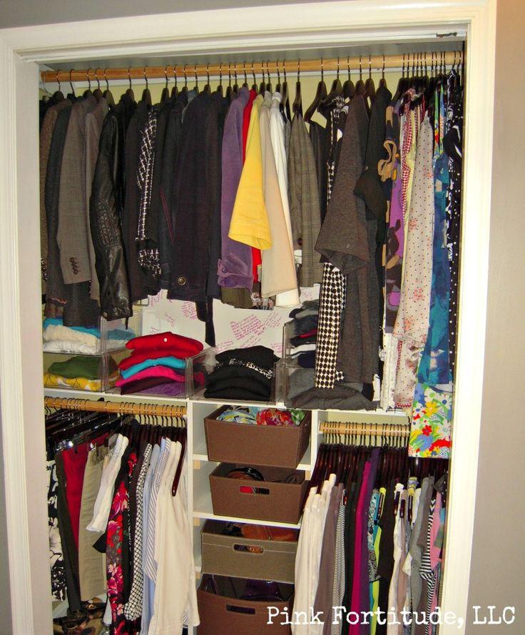 Great Closet Organizing Tips.