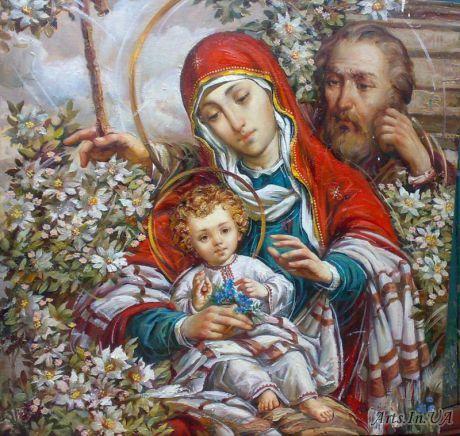 Святое семейство А. Охапкин