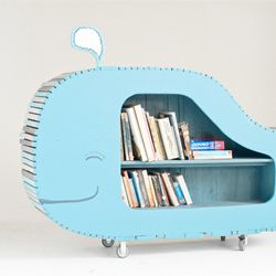 Adorable whale bookcase. Would be perfect for a child's room!Child Room, Bookshelves, For Kids, Whales Bookshelf, Little Boys Room, Kids Room, Kid Rooms, Bookcas, Book Shelves