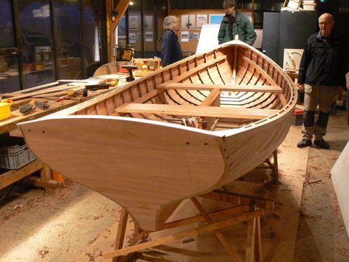 Enkhuizer School for Wooden Boatbuilding. Enkhuizer School for Wooden Boatbuilding  This Christmas Wherry was just built by Bert van Baar and his students at the De Bootbouwschool in Uitgeest, Holland