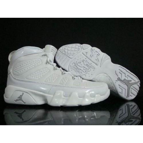newest 90282 6bcc1 ... nike retro air jordan 9 men (all white) 58.20