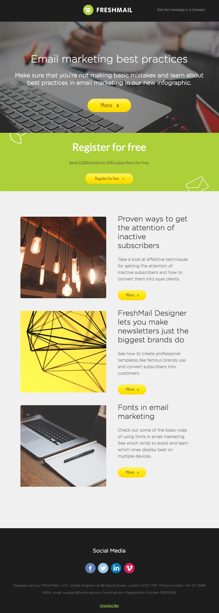 How to Design Visually Appealing Emails