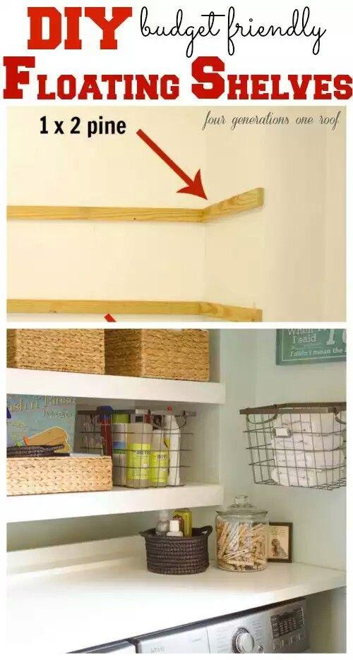 Etagere Murale D 233 Co Salon Pinterest Laundry Rooms