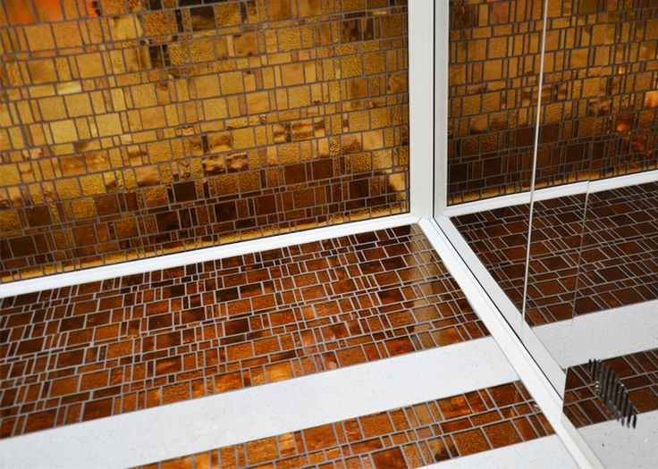 The unique Liberty mosaic made with handcrafted glass | Domuslift Liberty