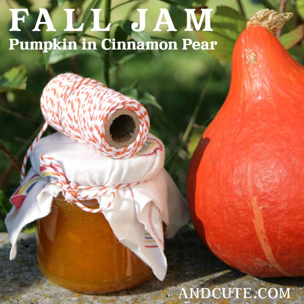 Fall Jam – Pumpkin in Cinnamon Pear