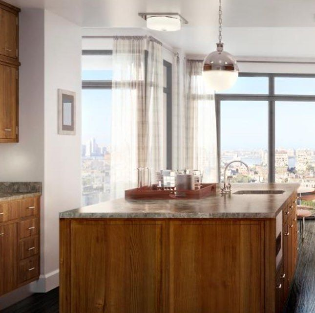 great view from this high rise condo kitchen sunday sundaymorning kitchen