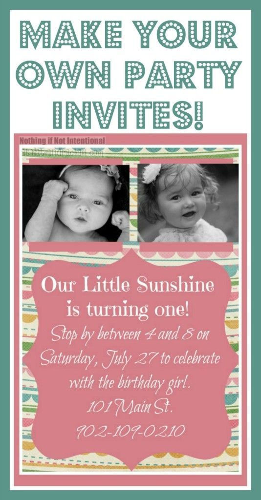 design your own party invitations online free uk - Picture Ideas ...
