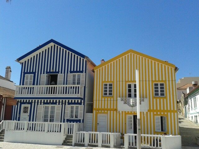 Typical houses at Costa Nova - Aveiro