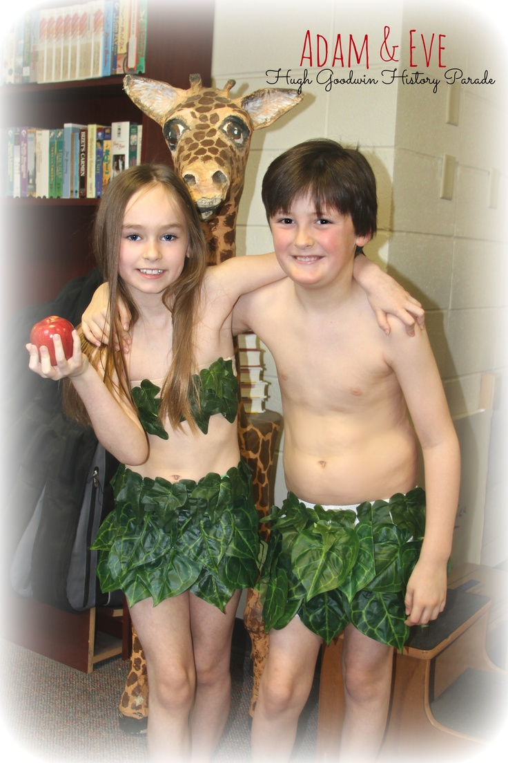 Adam Amp Eve Costume Easy To Make Diy Costumes For Kids