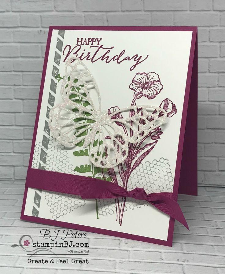 Butterfly Basics, Butterflies Thinlits, Stampin' Up!, #stampinBJ.com
