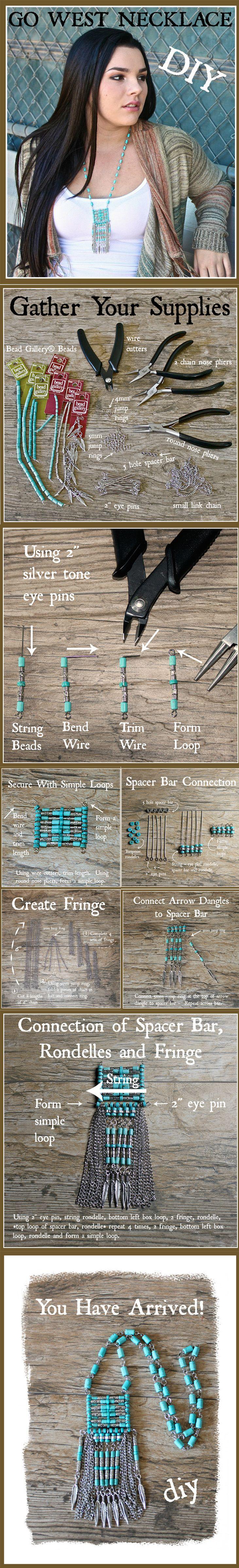 DIY Go West Southwest Necklace