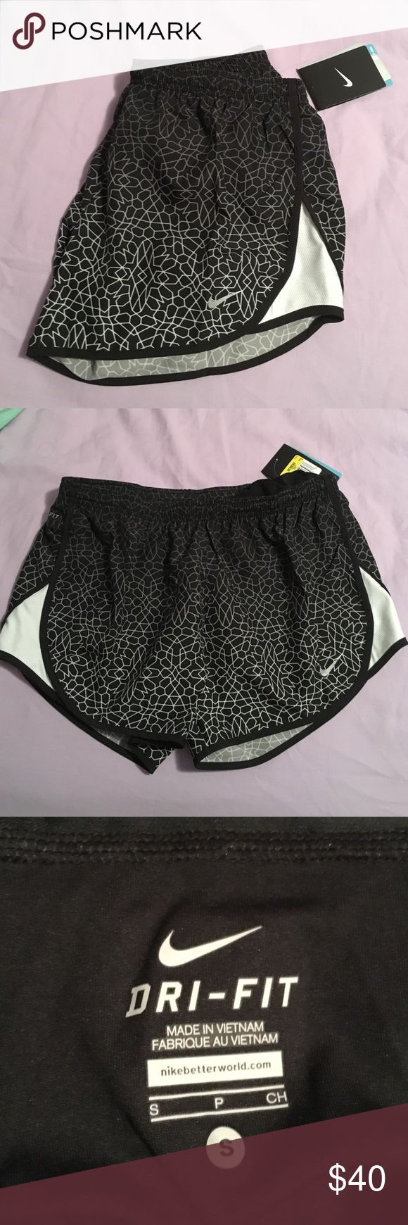 NWT Nike running shorts NWT Nike running shorts! Bought recently but they just don't fit me :( Nike Shorts