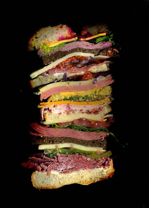 Scanwiches (scanned sandwiches)