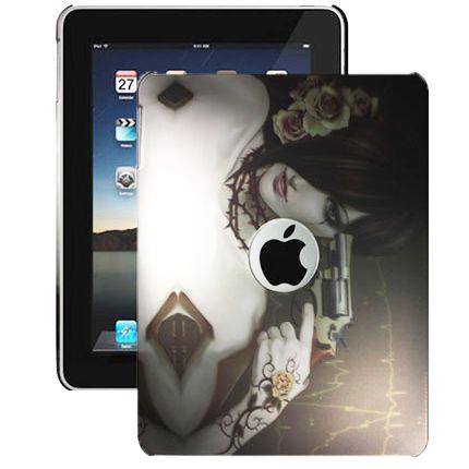 Ghost Girl (Ase) iPad Suojakotelo