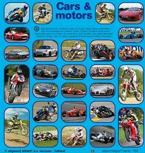 Stickers auto's en motoren