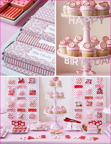 For a Birthday, but will spark come creativity with the red, white and pink!