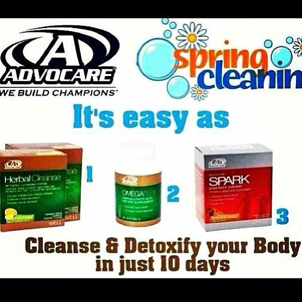 Cleanse & Detoxify your body in JUST 10 DAYS!! For more information, please e-mail me at jessibenavidez24@gmail.com or visit www.AdvoFitnessAndWellness.com