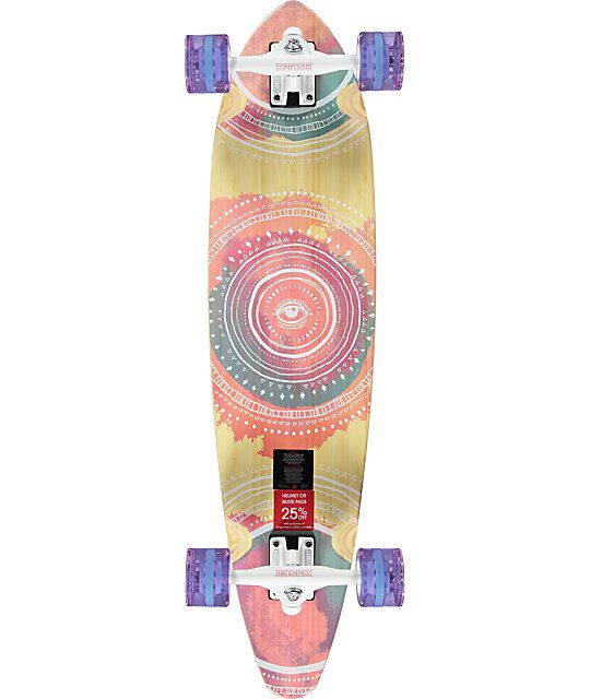 Cruise the streets on a stylish mid-size longboard with the Mercer Mandala complete. Improve your ride with buttery smooth 70mm 83A clear Mercer wheels on responsive reverse kingpin Compound trucks and milled wheel wells to reduce whel bite plus a super d