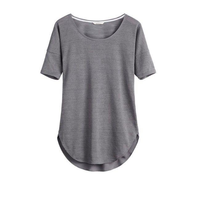 Sandwich Clothing Short Sleeve Jersey Top Grey