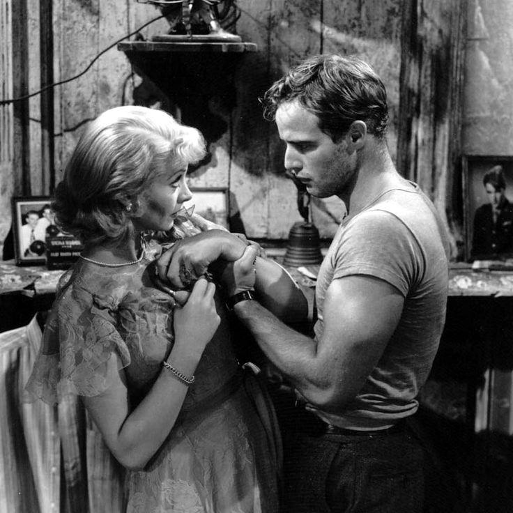 Vivien Leigh and Marlon Brando - A Streetcar Named Desire, 1951. S)