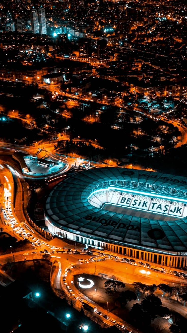 Vodafone Park Beşiktaş Kara kartal
