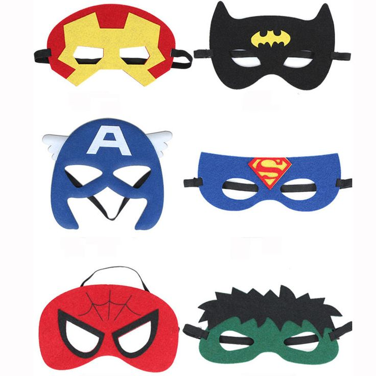 Halloween The Avengers Captain America Spiderman Halloween Party Masks Cosplay in Home, Furniture & DIY, Celebrations & Occasions, Party Supplies | eBay!
